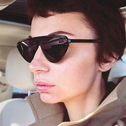 Estilo F Mujer Unisex Estilo A de Sol Vintage Retro para Gafas Hunpta P1nH8qAH