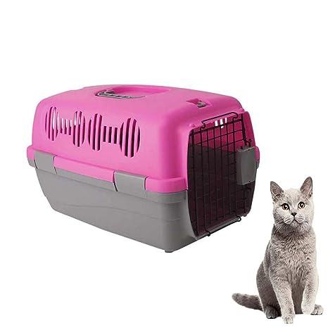 FXQIN Transportín para Mascotas de plástico, Soporte para Gatos ...