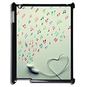 Print Your Own Pictures AXL-365301 Best Cover Case For Ipad 2,3,4 Cover Case w/ Musical notation
