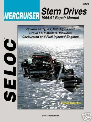 Stern Drive Repair Manual, VOL I, 1964-1991 (Mercruiser Stern Drive Motor)