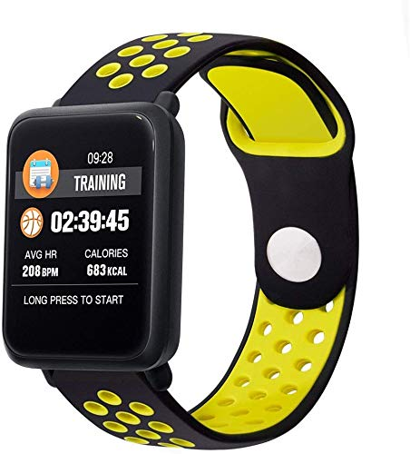 QTQZDD Smart Watch IP68 Impermeable Natación Monitor de Ritmo ...
