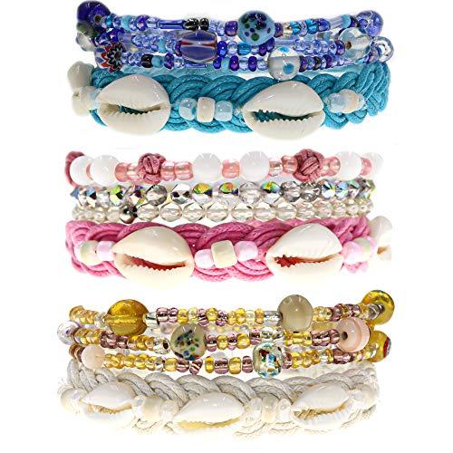 12 VSCO Bracelets for Teen Girls, Boho Friendship Bracelets for Women - http://coolthings.us
