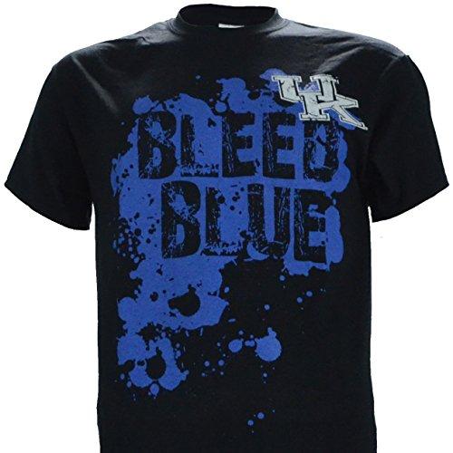 NCAA Champions University of Kentucky Wildcats UK Basketball : UK Bleed Blue T-Shirt On Short Sleeve Black