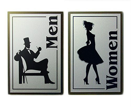 List of the Top 7 restroom sign brushed nickel you can buy in 2019