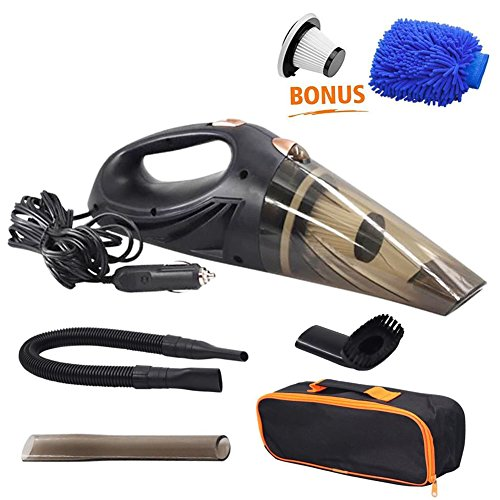 New GPISEN Car Vacuum Cleaner DC 12-Volt 106W Wet&Dry Handheld Auto Vacuum Cleaner