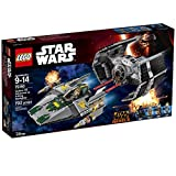 LEGO Vader's TIE Advanced Vs A-Wing Starfighter 75150 Building Set