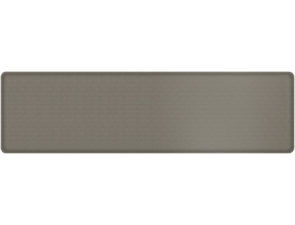 "GelPro Classic Anti-Fatigue Kitchen Comfort Chef Floor Mat, 20x72"", Linen Granite Gray Stain Resistant Surface with ½"" gel core for health & wellness"
