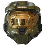 Halo 3 Master Chief 2 Piece Deluxe Helmet Halloween Mask