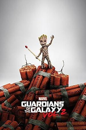 Guardians of The Galaxy Vol. 2 (Groot Dynamite) 61 x 91.5 cm Maxi ... eaf79267c6e