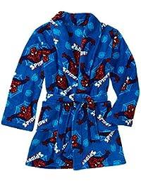 Spiderman Boy Bath Robe Pajama Size 8