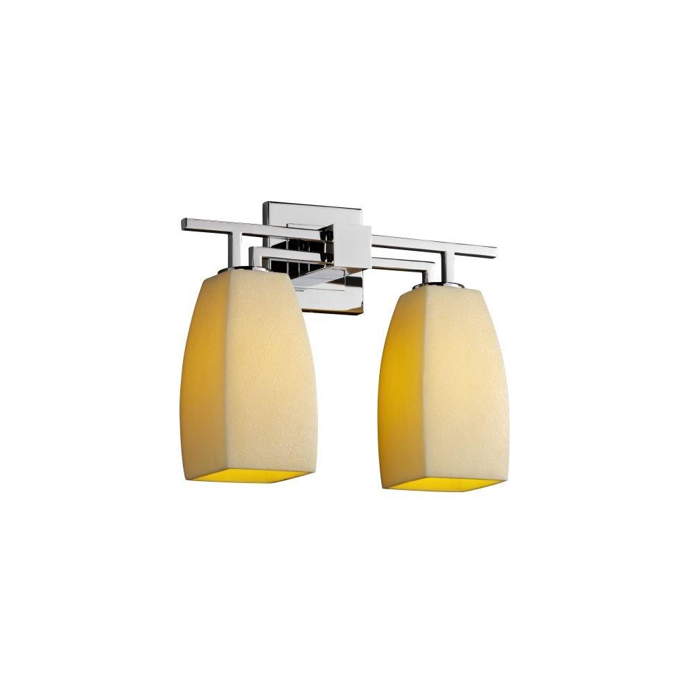 Justiceデザイングループcndl-8702 – 20-ambr-crom CandleAriaコレクションAero 2-lightバスバー B004VM37I0