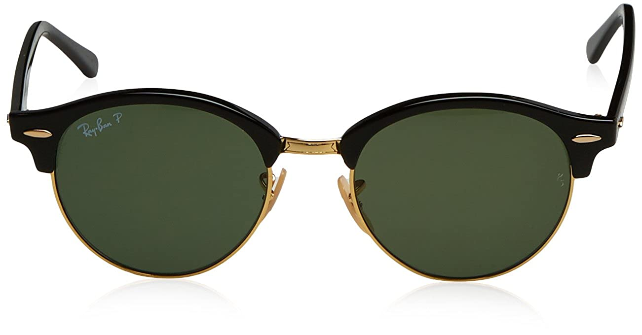 70a4df6340b Amazon.com  Ray-Ban Clubround Polarized Round Sunglasses