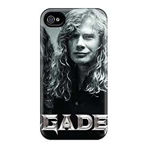 Bumper Hard Cell-phone Case For Iphone 4/4s (Ewz19687gfmR) Support Personal Customs Fashion Foo Fighters Pattern
