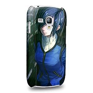 Case88 Premium Designs Tokyo Ghoul Kirishima Toka Carcasa/Funda dura para el Samsung Galaxy S3 mini (No Normal S3 !)
