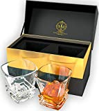 Best Man Whisky Glasses - Premium Quality Art Deco Whiskey Glasses. Genuine Lead Review