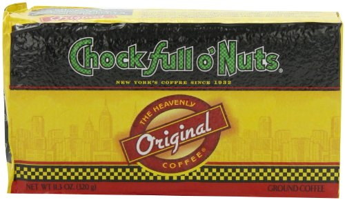 Chock full o'Nuts Coffee Original Blend Brick, 11.3 Ounce