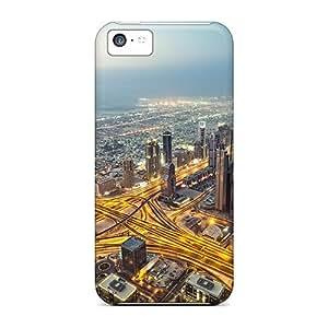 XiFu*MeiTough Iphone PIf36679eSxq Cases Covers/ Cases For iphone 6 plua 5.5 inch(view From Burj Khalifa Dubai)XiFu*Mei