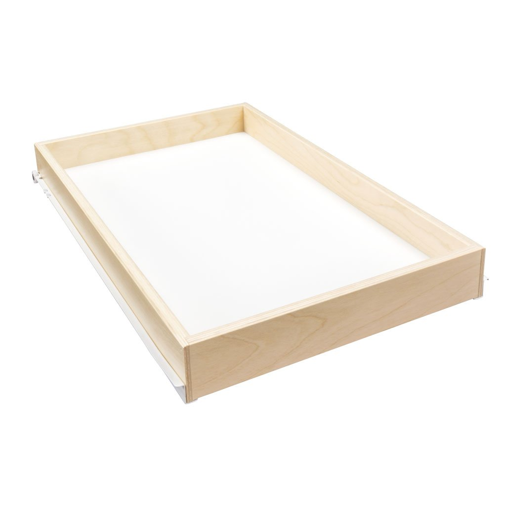 Sliding Pull Out Shelf For Cabinets Kitchen Cupboards Pantry Drawers Bathroom Storage Etc 2 3 8 Tall 21 3 4 Deep Includes 3 4 Slides