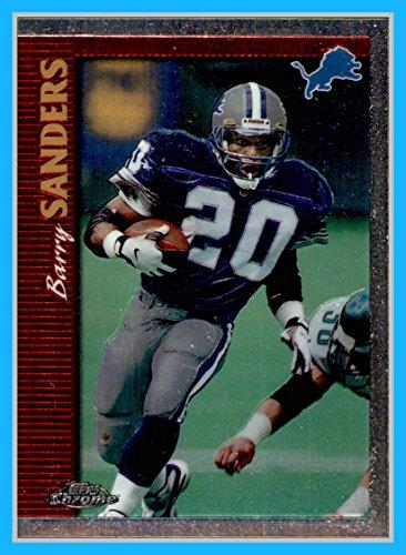 Chrome Barry Sanders - 1997 Topps Chrome #110 Barry Sanders HOF DETROIT LIONS Oklahoma State
