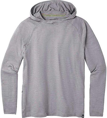 アウター パーカー・スウェット Smartwool Men's Merino Sport 150 Hoodie Light Grey メンズ [並行輸入品]