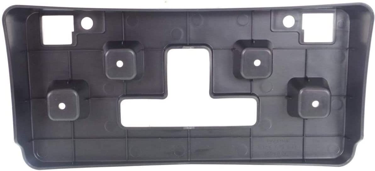 I-Match Auto Parts Front License Plate Bracket Tag Holder Replacement for 2013-2016 Buick Encore GM1068165 95393400 Black Textured