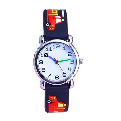 Amazon.com: Relojes digitales impermeables de silicona con ...