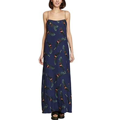 39365b2d8b1 Cacharel Maxi Dress 36771 Navy Blue Women Spring/Summer Collection at  Amazon Women's Clothing store: