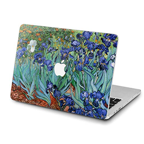Lex Altern MacBook Air Artwork Case 13 inch Pro 15 12 11 2018 2017 Colorful Irises Mac Hard Artistic Modern Retina Van Gogh Painting Cover Soft Clear 2016 Plastic Laptop Protective 2015 Touch Bar Top]()