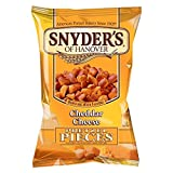 Snyder's Cheddar Cheese Pretzel Pieces 125g - Pack of 6