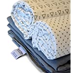 Receiving-Blanket-by-Rench-Babies-3-Pack-Muslin-Swaddle-Blankets-for-Boys-Girls