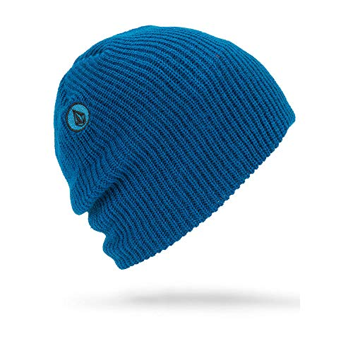 Beanie Volcom Winter (Volcom Big Boys' VS Slouch Snow Beanie, Blue, One Size fits All)