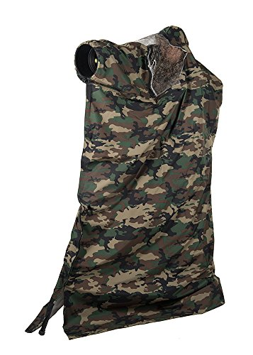 LensCoat Photo Blind LensHide Water-Repellent Tall, Forest Green Camo, compact (Forest Blinds)