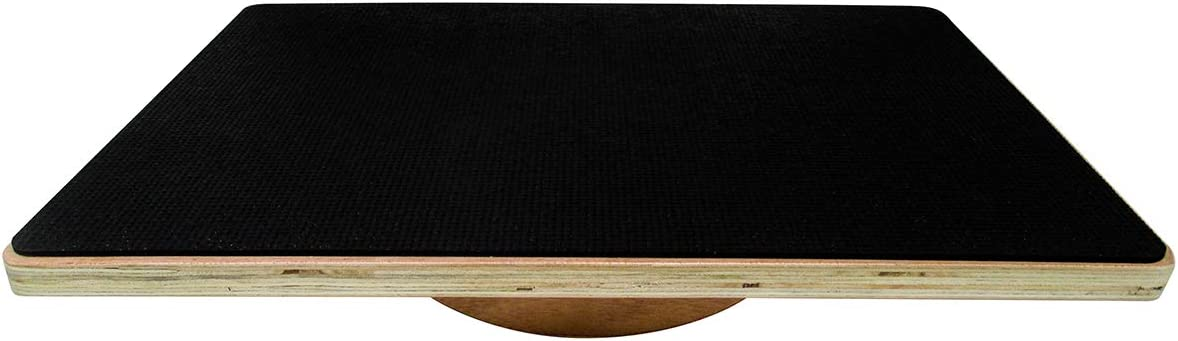 Trademark Innovations 20 Wood Wobble Balance Board Balance Trainer