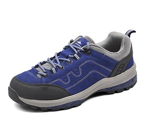 Libre Ocio Transpirables De De amp;HX Senderismo Antideslizante X De sportsEscalada Aire Z Ocio Zapatos Zapatos blue Al IFx7p7qg