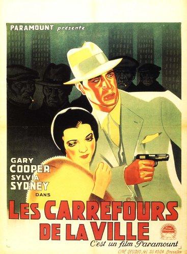 Amazon.com: City Streets Poster Movie Belgian 11x17 Gary ...