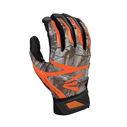Easton Z7 Hyperskin バッティンググローブ 1組 B01HOXM8L4 Large|Black/Real Tree Black/Real Tree Large
