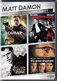 The Bourne Identity / The Adjustment Bureau / Green Zone / The Good Shepherd (Matt Damon 4-Movie Spotlight Series)