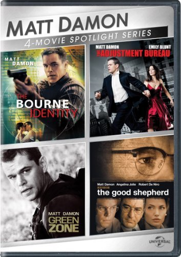 The Bourne Identity / The Adjustment Bureau / Green Zone / The Good Shepherd (Matt Damon 4-Movie Spotlight Series)