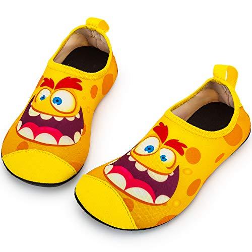 - Crova Kids Water Shoes Quick Dry Aqua Socks Non-Slip Barefoot Sports Shoes for Boys Girls Toddler