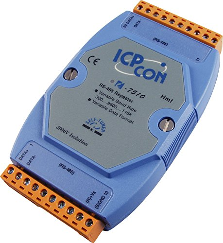 ICP DAS USA ICP-I-7510 RS-485 Isolated High Speed Repeater. by ICP DAS