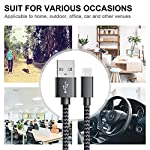GERETIN-Cavo-USB-Type-C-3-Pezzi1m2m2m-Cavo-USB-C-Nylon-Intrecciato-Cavi-Type-C-Rapida-Compatibile-con-Samsung-Galaxy-S9S8Note-8HuaweiOnePlusNexusGoogle-PixelXiaomiSonyNeroGrigio