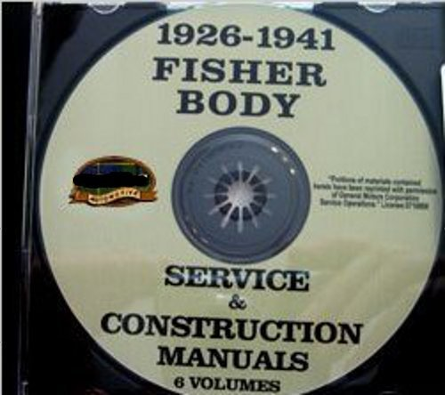 (1926 1927 1928 1929 1930 1931 1932 1933 1934 1935 1936 1937 1938 1939 1940 1941 PONTIAC FISHER BODY GM FACTORY REPAIR SHOP MANUAL on CD - INCLUDES Welding, Soldering, Hardware, Leaks, Locks, Deck, Pillars, Braces, Upholtery and much more)