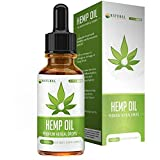 Hemp Oil for Pain Relief – All-Natural – Easy to Take Peppermint Flavor – Supports Calming and Relaxation – Rich in Omega 3 & Omega 6 Fatty Acids – 1oz Bottle – Natural Pathway Review