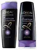 L'Oreal Volume Filler Thickening Shampoo and Conditioner 12.6 Ounces Each