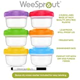 WEESPROUT Leakproof Baby Food Storage | 12