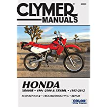 Honda XR600R 1991-2000 & XR650L 1993-2012: This manual does not cover XR650R models