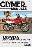 Honda XR600R 1991-2000 & XR650L 1993-2012: This manual does not cover XR650R models (Clymer Powersport)