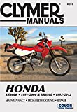Honda XR600R 1991-2000 & XR650L 1993-2012: This manual does not cover XR650R models (Clymer Powersport)