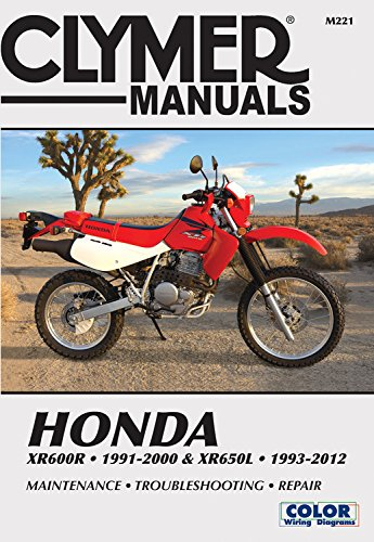 honda xr600r 1991-2000 & xr650l 1993-2012: this manual does not cover  xr650r models (clymer powersport) paperback – june 15, 2015