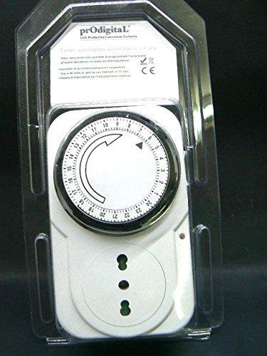 5 opinioni per Presa elettrica spina programmabile temporizzata timer a tempo temporizzatore